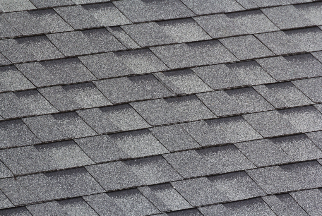 Picture of roof shingles